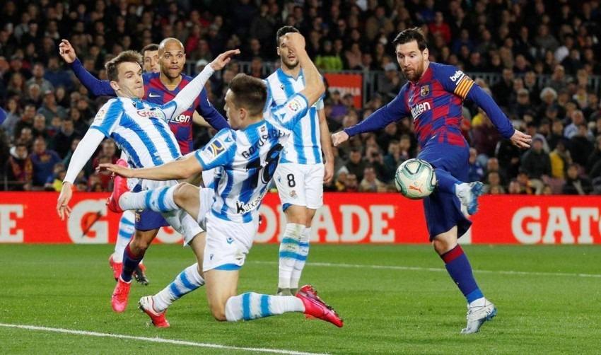 تشكيلة برشلونة أمام سوسيداد