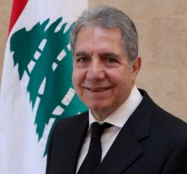 وزني وقع على فتح الاعتمادات لصالح مؤسسة كهرباء لبنان لزوم شحنة الفيول أويل