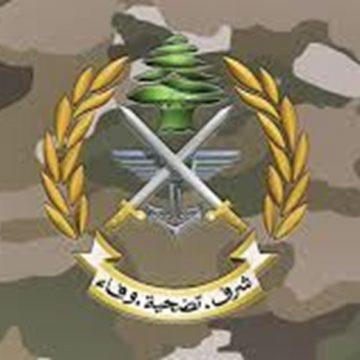 الجيش: زورق حربي معاد خرق المياه اللبنانية مقابل رأس الناقورة