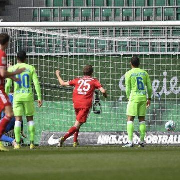 بايرن ميونيخ يصب جام غضبه على فولفسبورغ.. (فيديو)