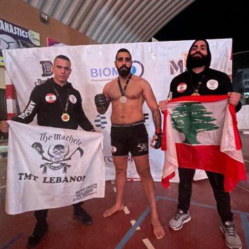 لبنان يفوز بالفنون القتالية المختلطة في مصر